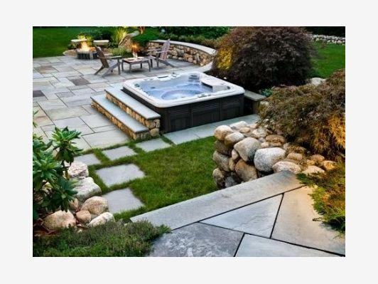 Hot Tub Landscaping Ideas Photos Home And Garden Design