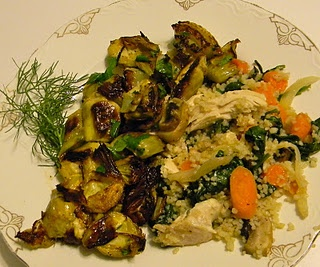 Roasted fennel and artichoke hearts plus one other recipe! Martha ...