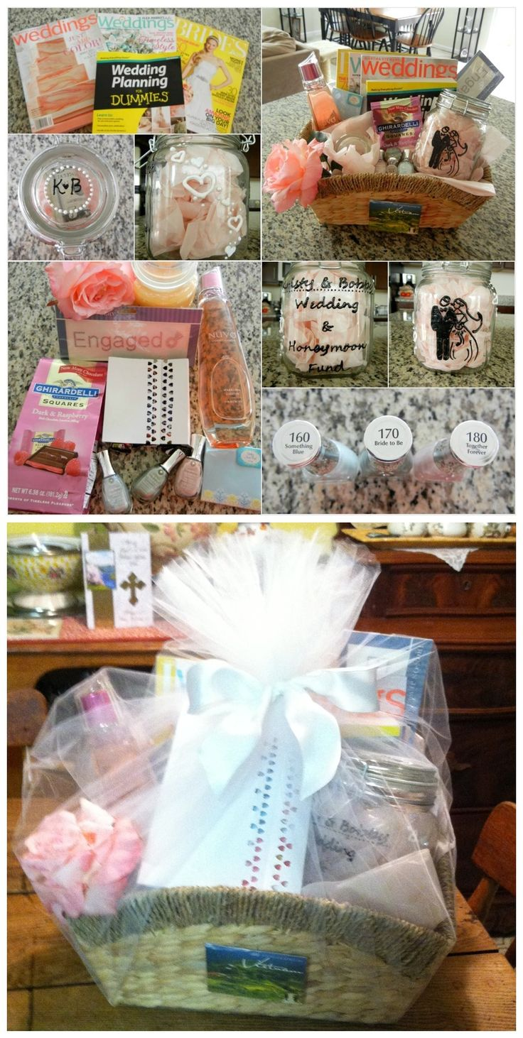 Wedding Planning Gift Basket : Engagement/Wedding Planning Gift Basket
