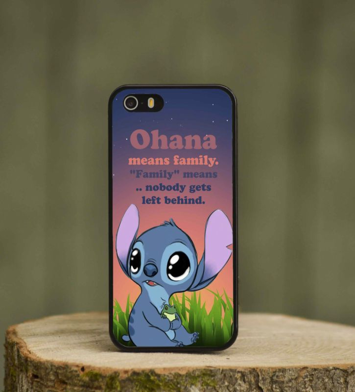 LiloAndStitchQuoteCutePhoneCaseCoverForKids
