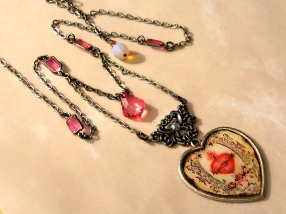 valentine's day necklaces at walmart