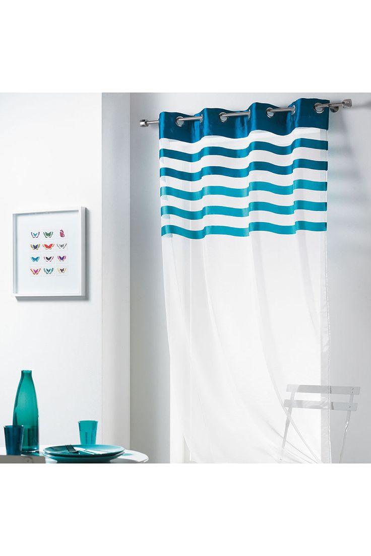 tati voilage voilage voilage estival gris xcm with voilage tati voilage pour cuisine unique. Black Bedroom Furniture Sets. Home Design Ideas
