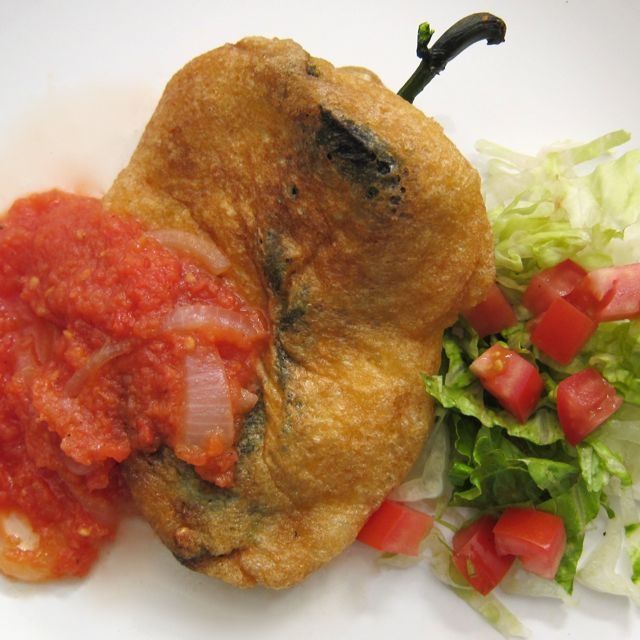 Chiles rellenos bring back memories of the wonderful ladies in my life ...