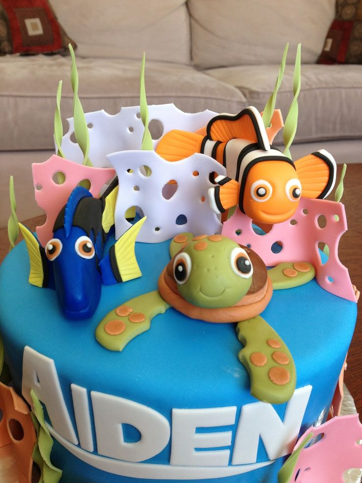 finding nemo cake - Google Search
