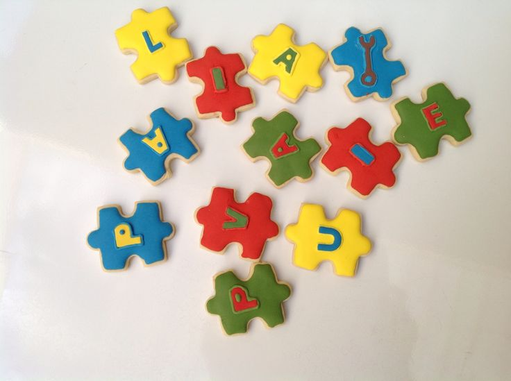 Easter Egg Puzzle Cookies Recipe — Dishmaps