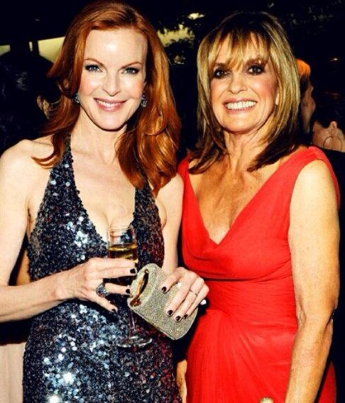 Marcia Cross and Linda Gray Two of my favorite ladies ever!
