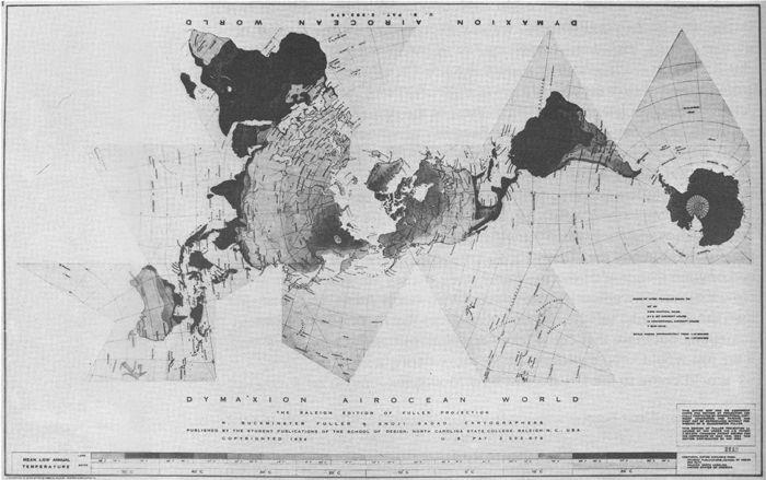 Big Dymaxion Map, Buckminster Fuller, Medard Gabel Resume - copy world map vector graphic