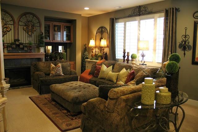 Tuscan Living Room Dream Home Pinterest
