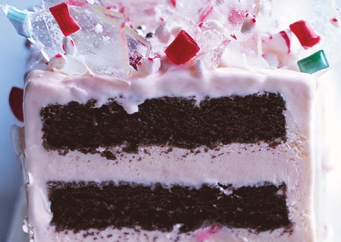 Peppermint Ice Cream Candyland Cake Recipe — Dishmaps