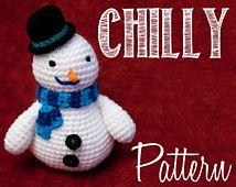 Free Snowman Amigurumi Pattern ~ Free Crochet Patterns