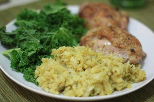 curried cauliflower rice | Yummy Foods & Drinks | Pinterest