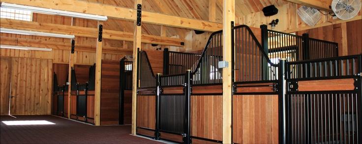 Horse Barn Interior | Horse play | Pinterest