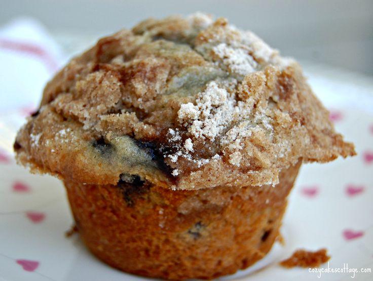 Blueberry Cream Delight Muffins | Recipe