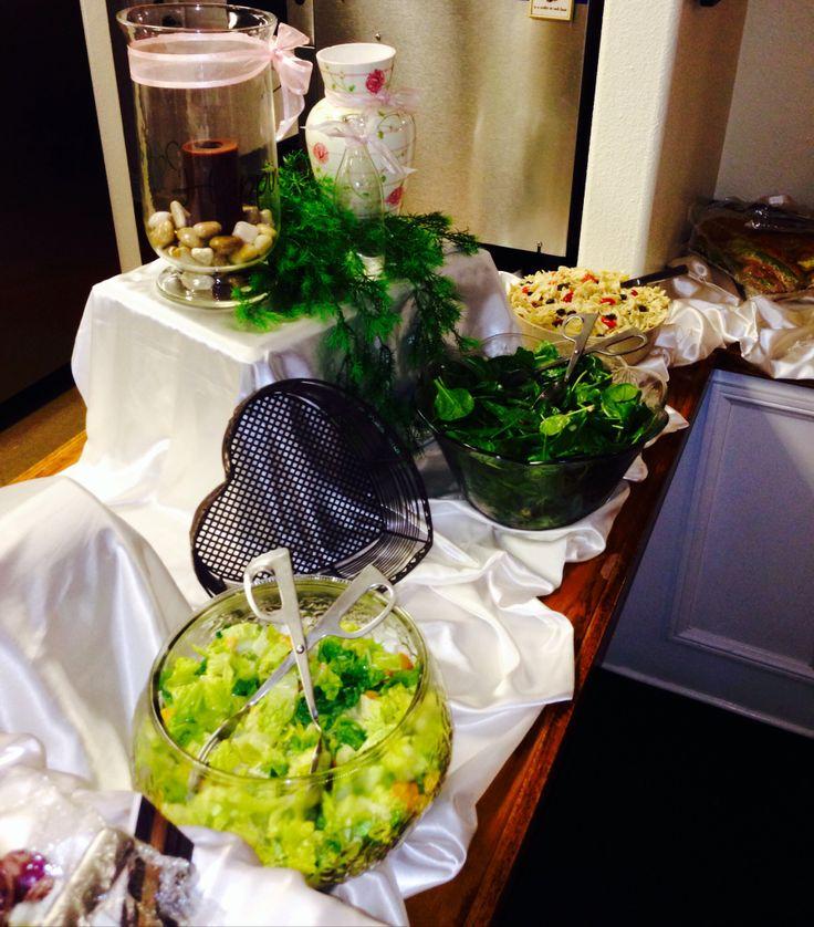 Buffet set up catering avocado house pinterest
