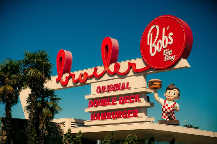 Bob 39 S Big Boy Broiler Formerly Johnie 39 S Mid Century Modern Los An