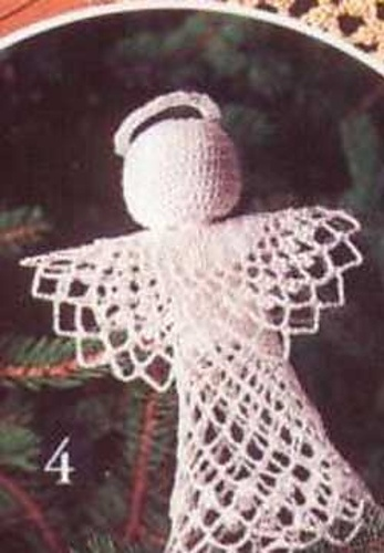 Free Crochet Patterns Christmas Tree Topper : Tree-Topper Angel Crochet: Christmas Ornaments Pinterest