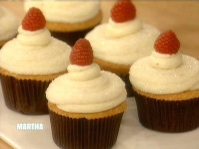 Meyer Lemon Raspberry Cupcakes - Martha Stewart Recipes. Best cupcake ...