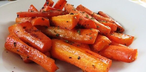 Candied Carrots. These are absolutely delicious
