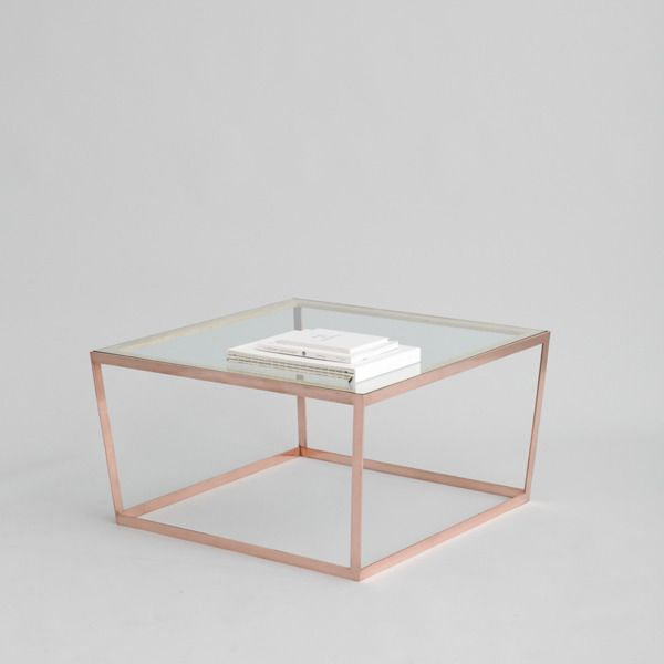 Image Of Frame Coffee Table Copper For The Home Pinterest