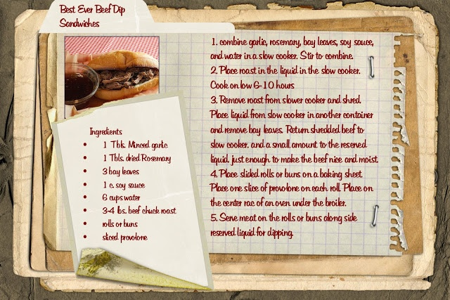 Best ever beef dip sandwiches | Crock pot meals | Pinterest