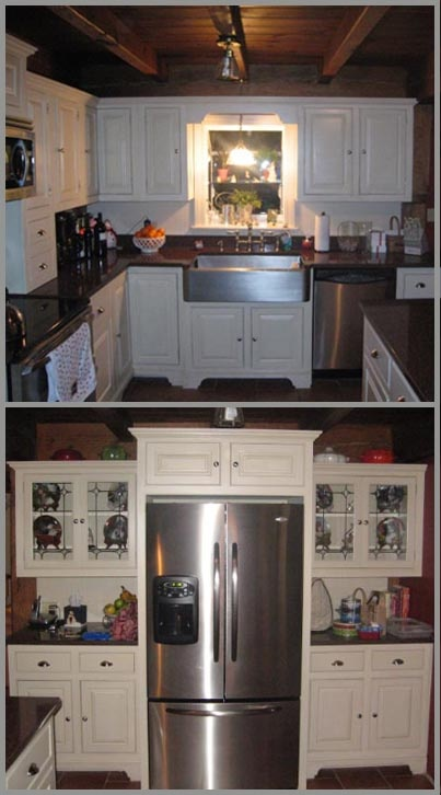Milk Paint Used On Kitchen Cabinets Painting Pinterest