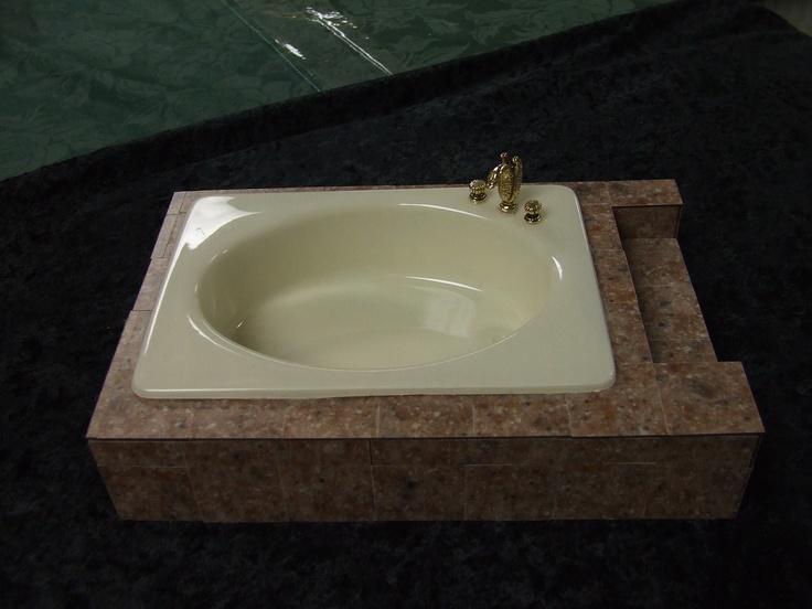 Sunken Bathtub Miniature Dollhouses Pinterest