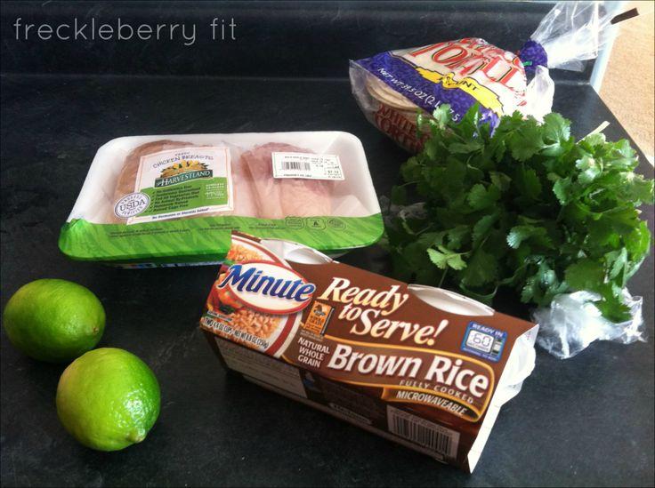 Cilantro Lime Chicken Tacos With A Mango And Black Bean Salsa Recipes ...