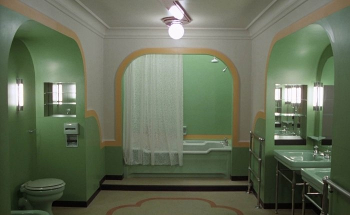 The Shining Bathroom Art Deco Pinterest