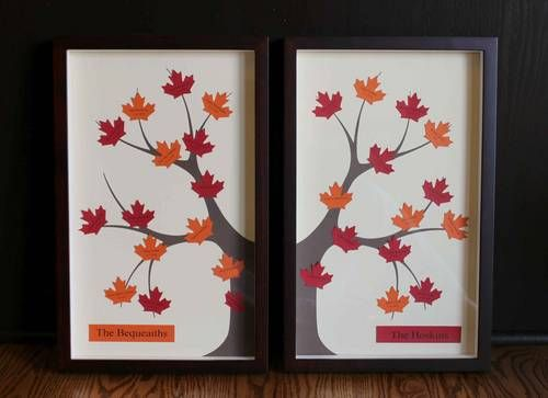 Double Framed Family Tree - PAPER CRAFTS, SCRAPBOOKING & ATCs (ARTIST ...
