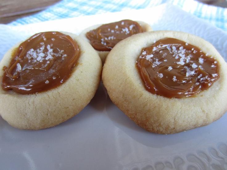 My Kitchen Adventures: Salted Caramel Shortbread Cookies | Cookies ...