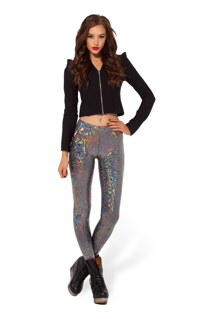 Shattered Crystal Leggings - LIMITED by Black Milk Clothing $80AUD