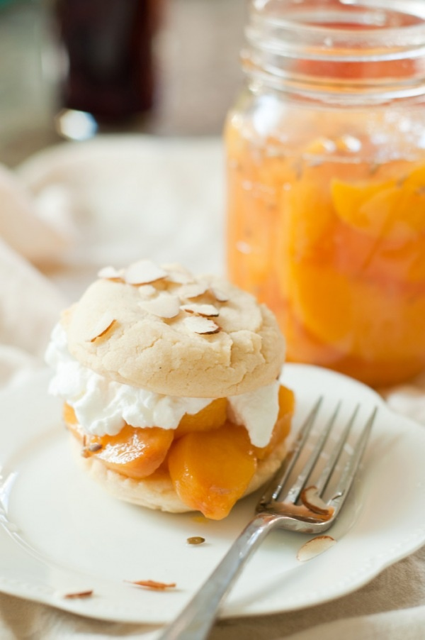 Peach shortcake | Sweets and Things | Pinterest