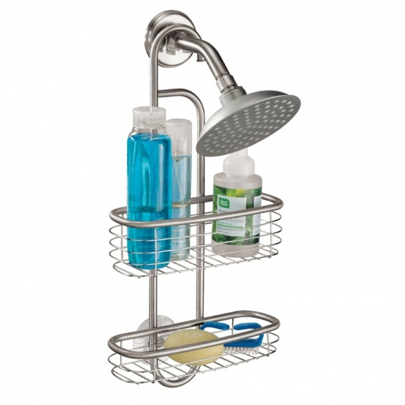 Stainless Steel Shower Caddy Bath Shower Storage Pinterest