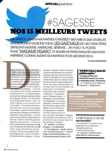 Madame Figaro Twitter