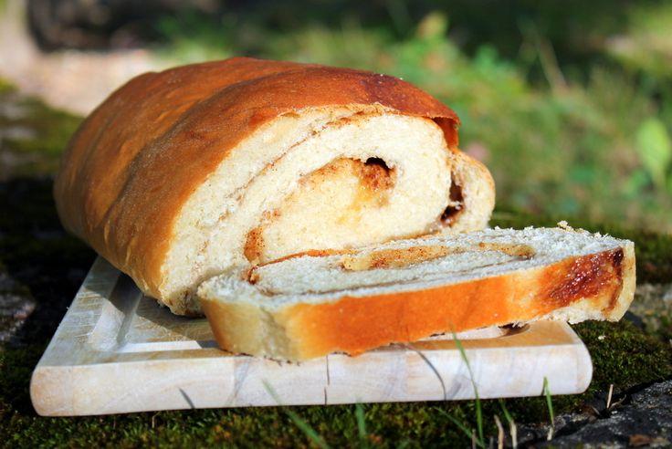 Homemade #cinnamon #bread for breakfast - it tastes AMAZING toasted!