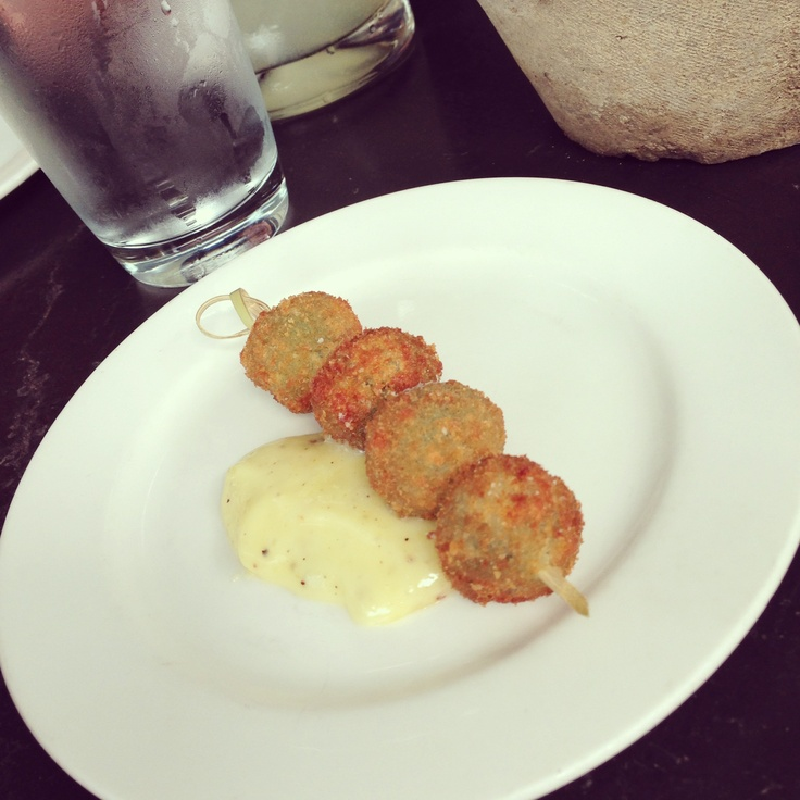 blue cheese fried fried green olives stuffed with blue cheese ...