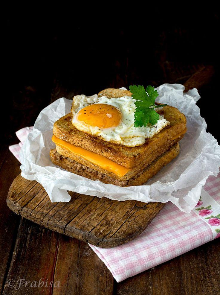 Hatfield's Croque Madame Sandwich Recipe — Dishmaps