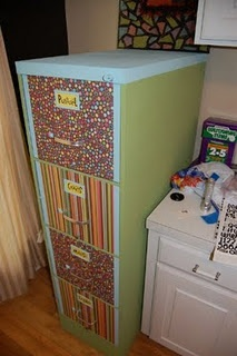 file cabinet redo -- for the classroom