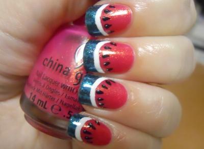 perfect summer nails!