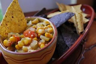 Roasted Corn and Zucchini Salsa | Favorite Recipes | Pinterest