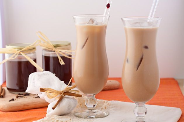 Homemade Chai Concentrate and Iced Chai Lattes...this chai recipe is too light if you want chai tea right away, it needs to steep for a long time to get the concentrated chai flavour so I suggest using this recipe strictly as a chai concentrate