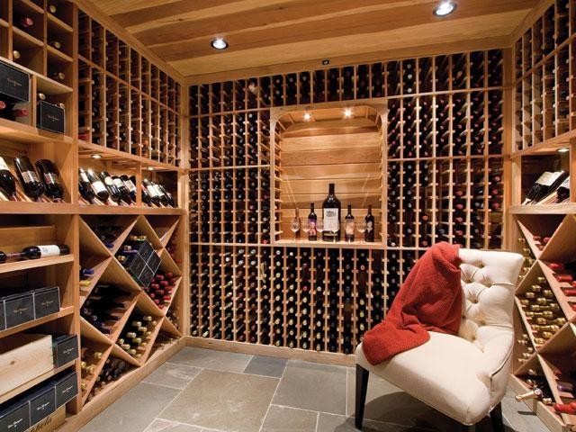 Dream home wine cellar home wine cellar pinterest for In home wine cellars