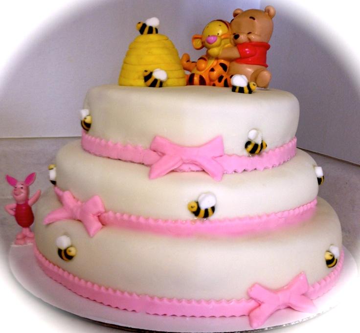 winnie the pooh baby shower cake aunt kacie pinterest