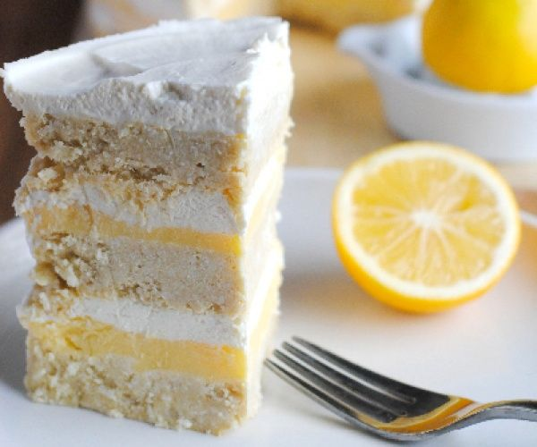 Coconut Lemon Layer Cake - Gluten-free and Sugar-Free http ...