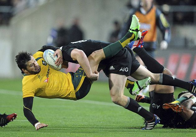RUGBY CHAMPIONSHIP 2013: All Blacks / Wallabies (27-16). Westpac ...