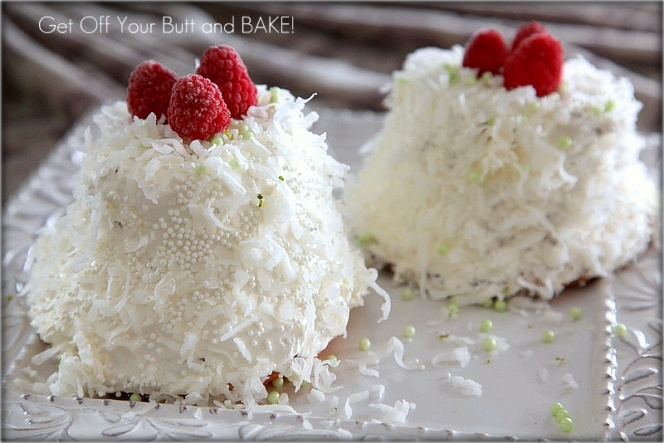 Coconut Lime Angel Cakes | CUPCAKES RECIPES | Pinterest