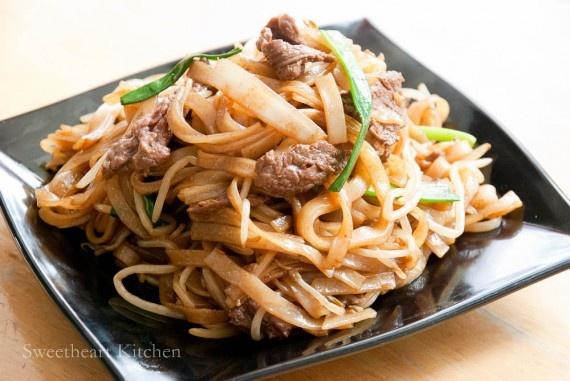 homemade ho fun noodles recipes