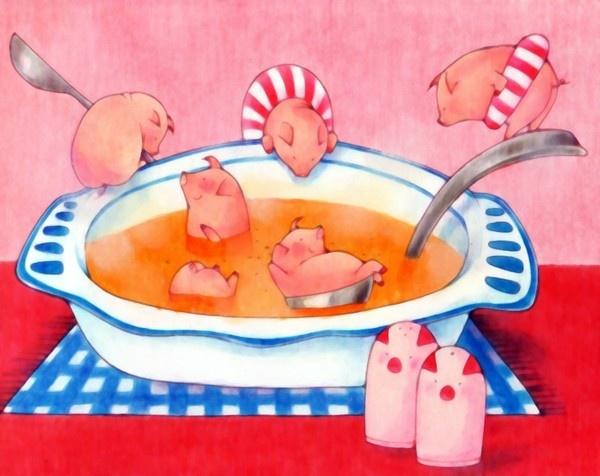 Tonjiru - mean pig/pork soup | pigs | Pinterest