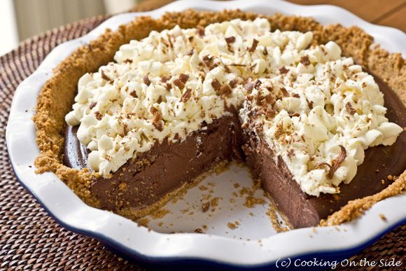 Chocolate Cream Pie with Cinnamon & Ancho Chile, from Cooking on the ...