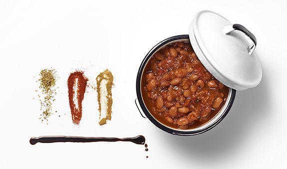 baked bean chili | Recipes: Vegan | Pinterest